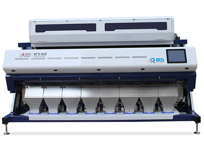 RZ+8 Model Rice Color Sorter Machine Image Processing System With IR Filter