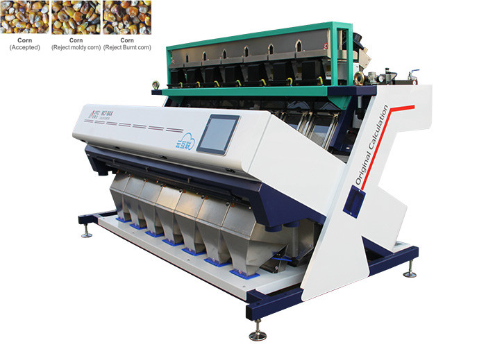 High Brightness Corn Color Sorter 5400Pixel CCD Image Acquisition System