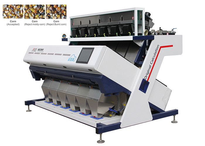 High Efficiency Corn Color Sorter Super Brain Intelligent Identification