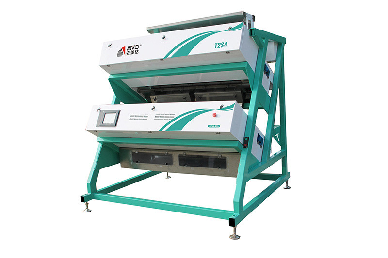 3 KW Tea Color Sorter , 220V/50HZ Independent Tea Optical Sorting Machine