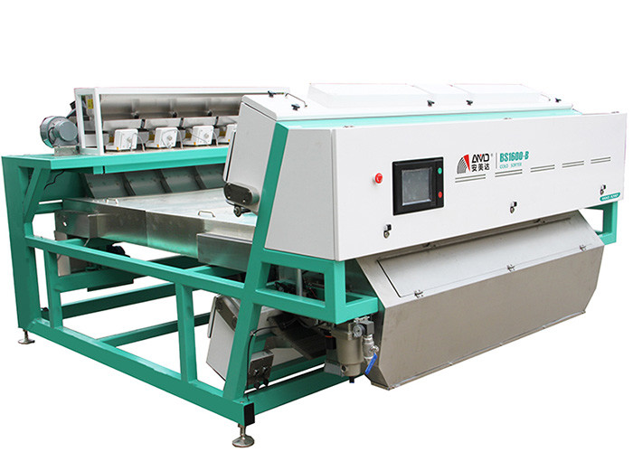 BS1600-B Belt Drive Color Sorter Machine , Remote Control Plastic Sorting Equipment