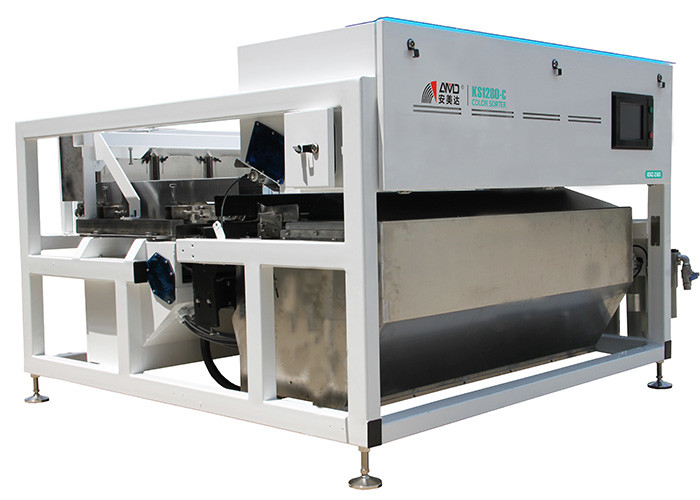 KS1280-C Belt Color Sorter Plastic Separator With HD True Color Camera