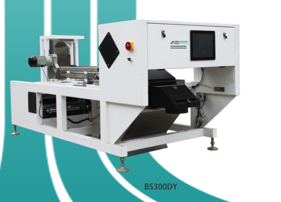 High Definition Belt Color Sorter With Ccd Camera Image Acquisition System