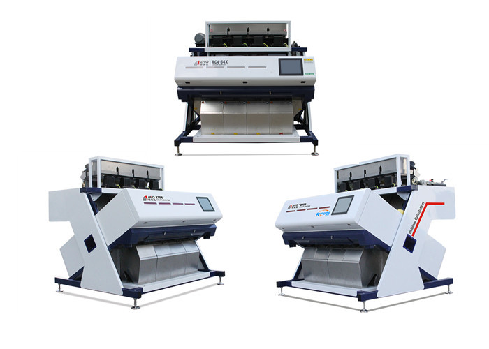 Simple Operation Grain Color Sorter Machine With Humanized Touch Panel